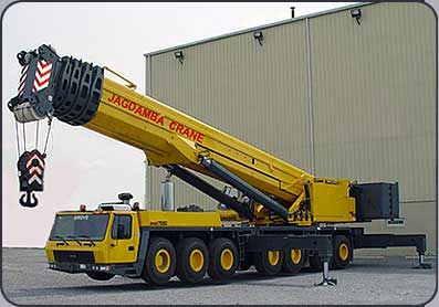 Wheel Mounted Crane